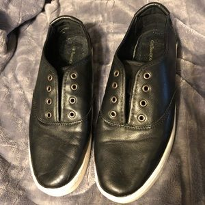 G.H Bass & Co. black leather sneakers 8.5